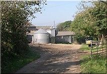 SW7651 : Farmyard at Lambriggan by Tony Atkin