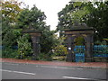 Dist:0.6km<br/>Grand gates lead to large council property.