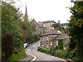 SW7250 : Looking up Town Hill to the Church and St Agnes Hotel by Tony Atkin