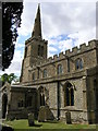 TL0873 : Catworth (Hunts) St Leonard's Church by ChurchCrawler