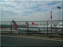TQ0774 : Heathrow Airport - Terminal 4 by Ray Stanton