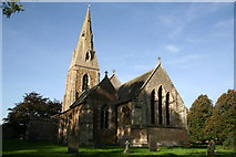 SK8943 : St.Mary's church, Marston, Lincs. by Richard Croft