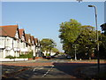 SJ3985 : Junction of Whitehedge Road and Garston Old Road by Sue Adair