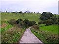 TQ3110 : Tegdown Hill by Simon Carey