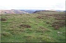 SO1606 : Cefn Manmoel ridge, Blaenau Gwent by Ralph Rawlinson