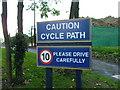 TL2035 : Cycle path by Robin Hall