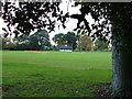 TL2035 : Fairfield Park - cricket ground by Robin Hall