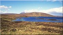NC4939 : Loch Meadie. by Richard Webb
