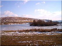 SO1407 : Llyn Cefn Golau in winter by nantcoly