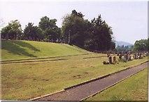 NO0840 : Burying Ground Caputh nr Dunkeld Perthshire by Heather June Williams