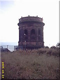 SJ5581 : Norton water tower by Mr M Evison