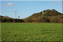 SW9555 : Disused China Clay Works near Goonamarris by Tony Atkin