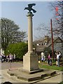 TL1690 : The Eagle, Norman Cross by Julian Dowse