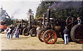 SJ8173 : Steam Fair at Astle Park Chelford by Ian Warburton