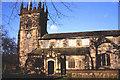 SJ8481 : St. Bartholomew's Church, Wilmslow. by Peter Ward