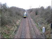 SK7640 : Nottingham to Grantham Railway, Near Orston by Bob Danylec