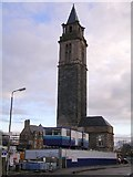 NS5162 : Tower at Leverndale Hospital by Chris Upson