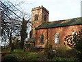 SJ9165 : Church of St Mary Bosley by Ian Warburton