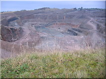 NY0517 : Eskett Quarry. by John Holmes
