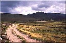 NJ1205 : Moraine deposits in Glen Avon. by Richard Webb