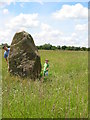 SU7593 : Millennium Stone at Ibstone Common by Ian Day