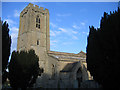 TF0904 : Church of St Andrew, Ufford, Peterborough by Rodney Burton