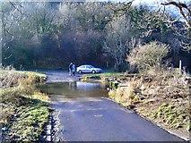 SS9075 : Ford at Pont Alun - Glamorgan by Richard Knights