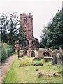 SJ4966 : St. Andrew's Parish Church. by Stephen Elwyn RODDICK