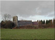 ST4063 : The leaning tower of Puxton church by FollowMeChaps