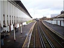 SZ0591 : Branksome Railway Station by Steve R