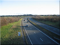 SJ2469 : A55 North Wales  Expressway by Phil Williams