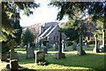 NY4322 : Parish Church of All Saints, Watermillock by Bob Jenkins