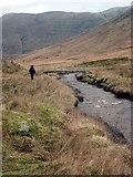 NS2993 : Footbridge over the Luss Water by Gordon Brown