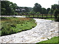 NY6216 : The Lyvennet river in full flow by Tim Leete