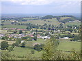 SJ4953 : View over Brown Knowl and Fullers Moor. by Stephen Charles
