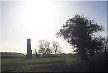 SP2691 : A lonely chimney by Richard Harrison