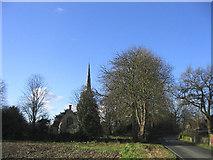 TL6212 : Parish Church, Good Easter, Essex by John Winfield