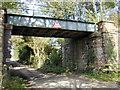 SJ4770 : Railway bridge near Long Green by Stephen Charles