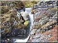 NY2627 : Not a natural waterfall. by John Holmes