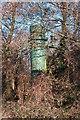 SU6606 : Unusual pipe/vent atop Portsdown Hill. by Martyn Pattison
