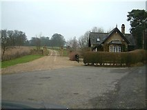 SP4829 : North Aston Hall Gatehouse, and Footpath...... by Colin Bates