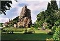 SO7192 : The Castle Keep, Bridgnorth, Shropshire by Robert Edwards