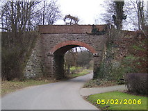 SJ4013 : Disused Railway Bridge by Mr M Evison