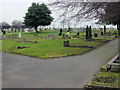 SE4108 : Grimethorpe Cemetery by Richard Spencer