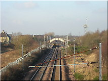 NS7659 : Holytown Station by Iain Thompson