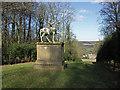SU8293 : Statue, West Wycombe Park by David Ellis
