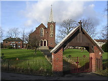 NS6665 : St John Ogilvie, Roman Catholic Church by Chris Upson
