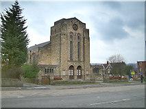 SK3284 : Banner Cross Methodist church. by Mike Fowkes