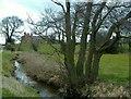 SJ4868 : Farm near Park Hall, Barrow by Mike Harris