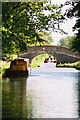 SJ6150 : Llangollen Canal - Halls Lane Bridge by Pierre Terre
